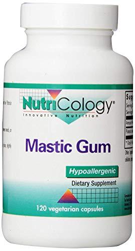 NutriCology, Mastic Gum ( Pistazienharz ) , 120 vegetarische Kapseln