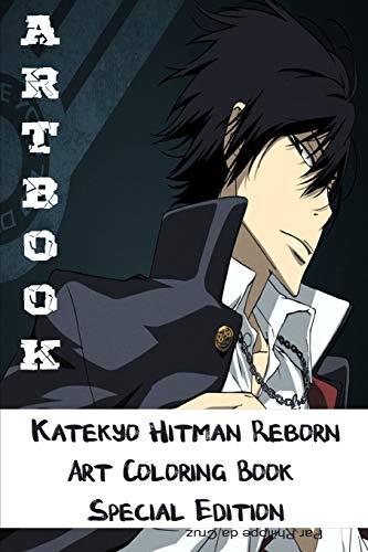 Artbook - Katekyo Hitman Reborn Art Coloring Book - Special Edition