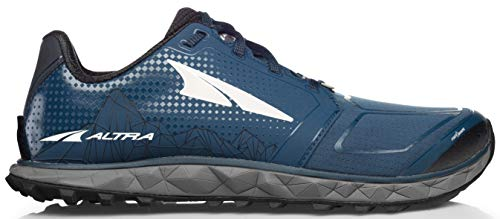 ALTRA Men's AFM1953G Superior 4 Trail Running Shoe, Blue/Gray - 12 D(M) US