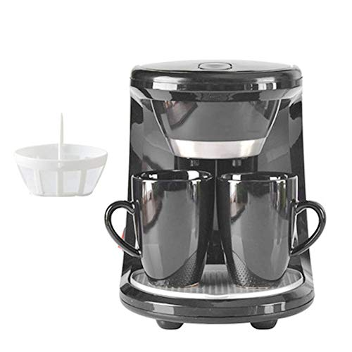 HRRH Mini Electric Kaffeemaschine, 220V 450W Haushalt Halbautomatische Brewing Teekanne Kaffeemaschine Espresso