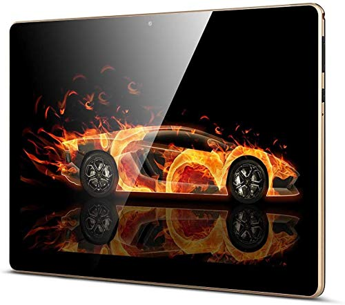QIMAOO 10.1 Inch Tablet, Android 8.1 Phablet 32GB ROM 2GB RAM with Google...