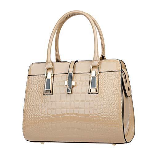 OIKAY Mode Damen Tasche Handtasche, Schultertasche Umhängetasche Mode Neue Handtasche Frauen Umhängetasche Schultertasche Strand Elegant Tasche Mädchen 0410@051