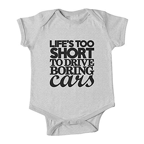 Huang Life's Too Short to Drive Boring Cars (7) Bebé de una pieza
