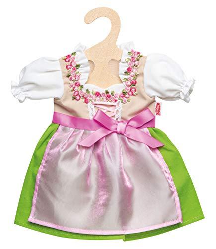 Heless 1113 - Kleid für Puppen, Dirndl Heidi, Größe 28 - 35 cm