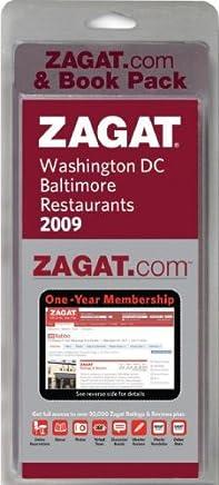 Zagat Washington, DC / Baltimore Restaurants 2009