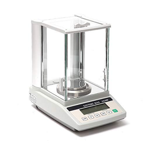 LICHUXIN Oksmsa Precisión Balanza Electrónica 0.001g Laboratorio Electrónico Análisis Balance 0.0001g por Joya Oro Peso con Automático Calibración Caracteristicas (Size : 520g/0.001)