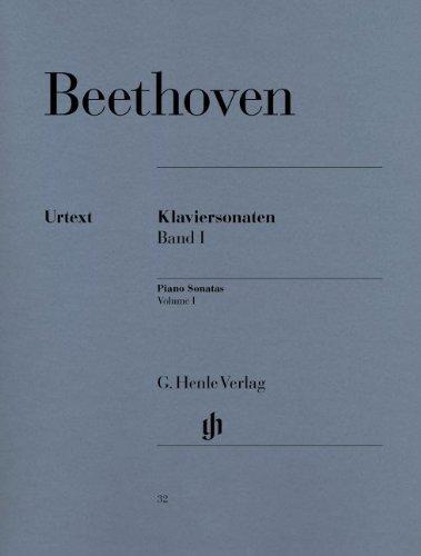 ベートーヴェン: ピアノ・ソナタ集 第1巻/ヘンレ社/原典版