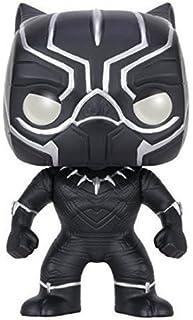 Funko POP Marvel: Capitán America 3: Figura de Acción Guerra Civil, Pantera Negra