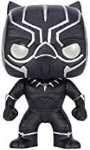 Funko Pop!- capitán Bobble: Marvel: Captain America CW: Black Panther,, 3.75 Inches (7229)