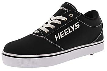 HEELYS Footwear Wheeled Heel Shoe Black 5 US Unisex Big Kid