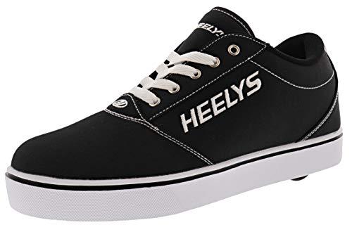 HEELYS Footwear Wheeled Heel Shoe, Black, 6 US Unisex Big Kid