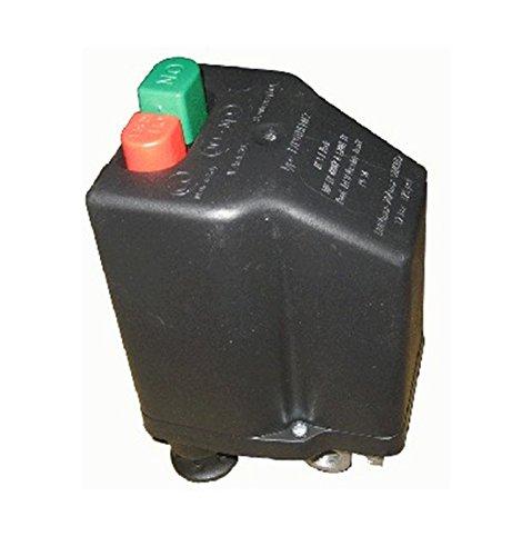 Presostato Italiano marca NE-MA para Compresores Trifásico de 10 a 16 Amp - Conenxión 3/8' + Interruptor