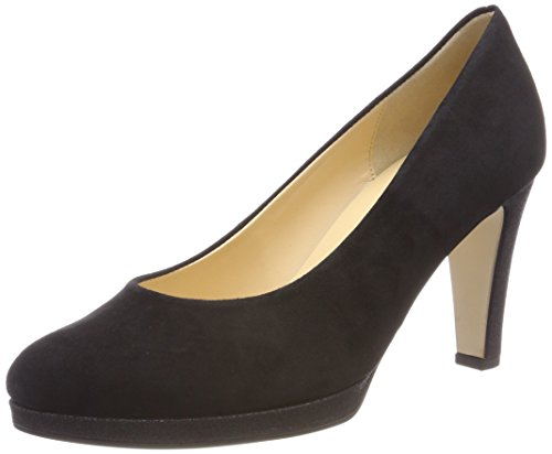 Gabor Shoes Damen Fashion Pumps, Schwarz (Schwarz (Natur 37), 38 EU