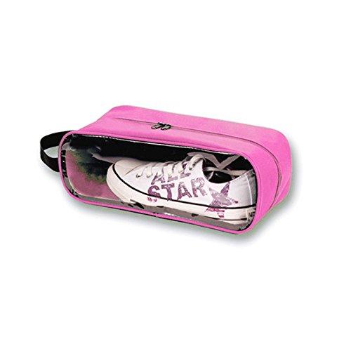 Blueee : sac de rangement pratique pour chaussures portable, multi-usage, trousse de maquillage, à suspendre 6 couleurs au choix