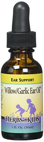 Herbs for Kids Willow/Garlic Ear Oil, Unscented (Btl-Glass) | 1oz