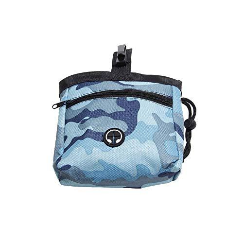 Bolsa de almacenamiento portátil para mascotas con capacidad de almacenamiento para comida para caminar o entrenar
