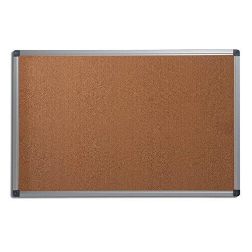 Office Marshal® Profi - Pinnwand mit hochwertiger Kork - Oberfläche | im stabilen Aluminiumrahmen | 4 Größen | 60x90cm
