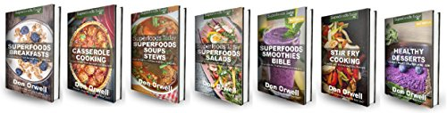 Superfoods Recipes Box Set: 500+ Superfoods Breakfasts, Casseroles, Soups & Stews, Salads, Smoothies, Stir Fries and Desserts : Gluten Free Diet, Wheat ... loss meal plans Book 85) (English Edition)