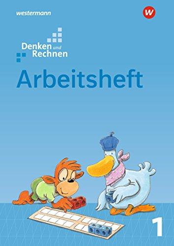 Denken und Rechnen - Allgemeine Ausgabe 2017: Arbeitsheft 1
