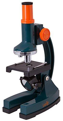 Levenhuk Microscopio per Ragazzi LabZZ M1 con Kit di Accessori (Pipetta, Vetrini Vuoti, Coprivetrini, Adesivi per Vetrini e Sale Marino Inclusi)
