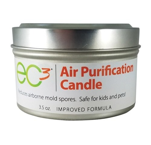 EC3 Air Purification Candle, Natural, Botanical Ingredients in Soy Wax