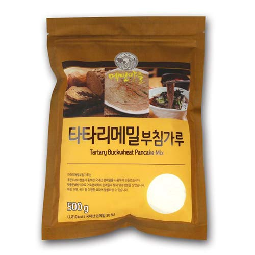 [Odaesan Food] Tartary Buckwheat Flour & Pancake Mix 500g/17.6oz, High Nutrition (Tartary Buckwheat Pancake Mix 500g)