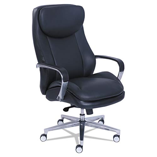 La-Z-Boy Commercial 2000 High-Back Executive Chair, Black