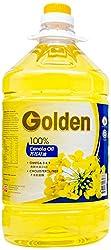 Golden 100% Pure Canola Oil, PET, 5L