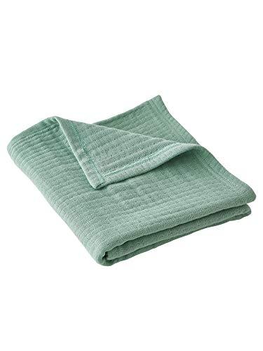 Vertbaudet Babydecke aus Baumwolle grün 72