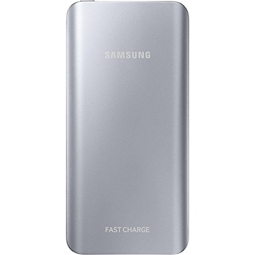 Samsung Externer Akkupack (5200mAh) mit Schnellladefunktion, silber