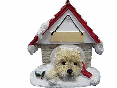 E&S Pets 35355-9 Doghouse Ornament from E&S Imports, Inc