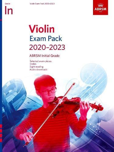 Violin Exam Pack 2020-2023, Initial Grade: Score & Part, with audio...