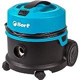 Bort BSS-1010HD - Aspirapolvere a secco da 10 l, 1000 W, tubo flessibile di aspirazione 2,5 m, lunghezza cavo 12 m, super silenzioso (64 dB), per aspirapolvere industriale e privato