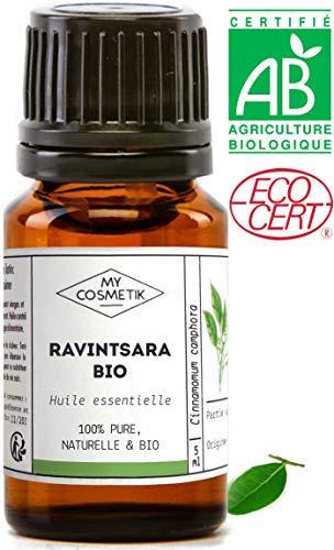 Huile essentielle de Ravintsara CT 1,8 cinéole BIO - MyCosmetik - 10 ml