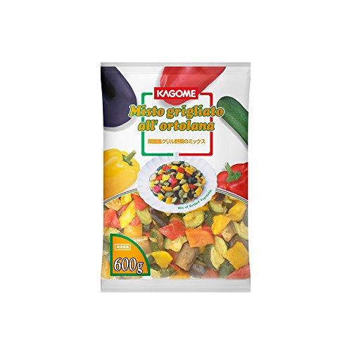 カゴメ 野菜菜園風グリル野菜のミックス 600g【冷凍】