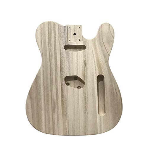 Poliertem Holz Typ E-Gitarre Barrel DIY E-Ahorn Korpus für TL Style Gitarre
