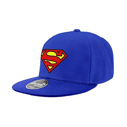 DC Comics Snap Back Cap Superman Logo Berretti Cappelli