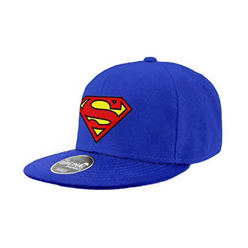 DC Comics Snap Back Cap Superman Logo Berretti Cappelli