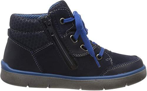 Superfit Jungen BART Hohe Sneaker, Blau (Ocean Kombi), 32 EU