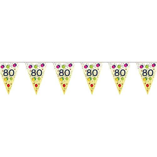 Guirlande anniversaire 80 ans