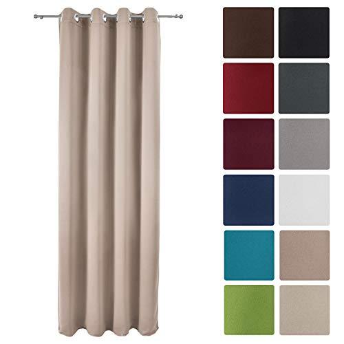 cortinas salon trabillas correderas