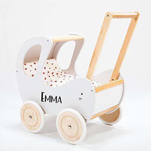 Lauflernwagen Retro Puppen-Wagen mit Personalisierung