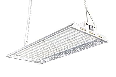 Durolux DLED828W 160W LED Grow Light - Over 50% EnergySaving! (2x1 Foot   100W, White   FullSun Seed & Veg)
