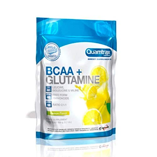 Quamtrax Direct BCAA + Glutamine - 500 gr Limón