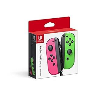 Nintendo Joy-Con  L/R  - Neon Pink / Neon Green