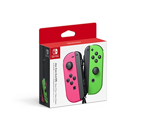 NintendoACC SWITCH JOY CON L R ROSA VERDEACC SWITCH JOY CON L R ROSA VERDE – Standard Edition