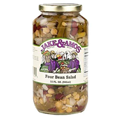 Jake Amos Four shopping price Bean Salad 32oz jar
