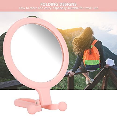 Espejo De Tocador Espejo Cosmético, Espejo De Maquillaje Portátil, Para Aplicación De Maquillaje Eliminación De Puntos Negros