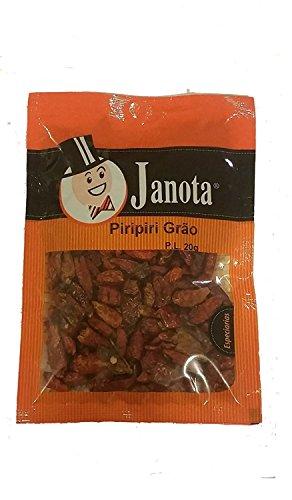 20g Piri Piri Peri Peri Spice Hot Chilli Pepper Whole Pod from Portugal by Janota