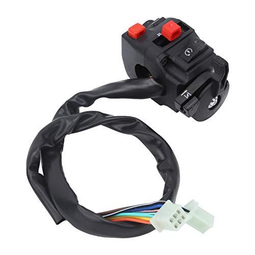 Botón de apagado del manillar, interruptor de arranque, llave de encendido, interruptor de encendido del manillar, interruptor de encendido ATV para scooter